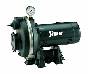 Simer 3310p 1 Hp Convertible Deep Well Jet Pump Sturdy Thermoplastic Packs New