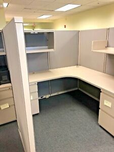 Cubicle partition System By Steelcase 900 Model 6ft X 6ft