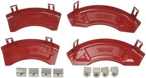 2006 2010 Mustang Wo Brembo Brakes Red Disc Brake Caliper Aesthetic Cover Kit
