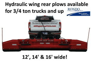 Snow Plow Rear Mounted Hyd Wings vide0