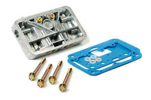 Holley 34 13sa Secondary Metering Block Conversion Kit Shiny Aluminum