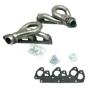 For Ford Ranger 02 08 Exhaust Headers Cat4ward Stainless Steel Natural Short