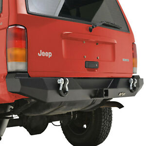 Rear Bumper With Hitch Receiver Fit 84 01 Jeep Cherokee Xj