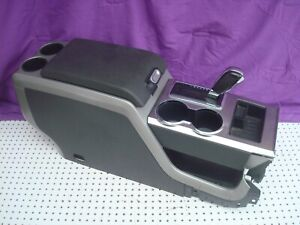 Oem 11 12 Ford F 150 Center Floor Console Complete Set Shipping