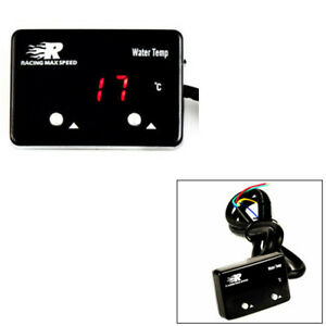 Power12v Dc Max 0 3a Water Temp Gauge Npt 1 8 Digital Display With Red Led