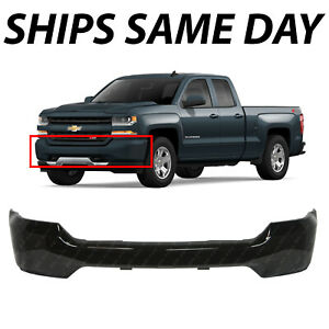 New Primered Steel Front Bumper Face Bar For 2016 2017 2018 Chevy Silverado 1500