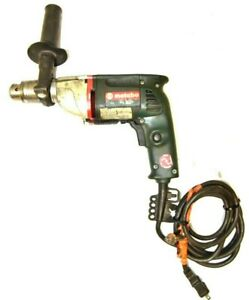 120v Metabo 3 8 Industrial Drill With 1 2 Chuck Key