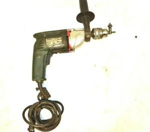 120v Metabo 3 8 Industrial Drill With 1 2 Chuck Key 0 1100 Rpm