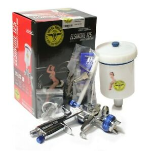 Insta Finish Full Size Hvlp Spray Gun 1 3 Nozzle 600cc Cup Lid Included