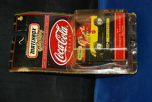 Coca-Cola Matchbox 1998 Jeep Wrangler in the Package Collectable Die Cast