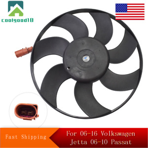 A c Condenser Cooling Fan For 2006 2016 Volkswagen Jetta 2006 2010 Passat Right