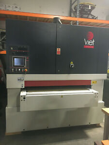 Low Hours 2012 Viet S3 443 Tm Wide Belt And Drum Sander woodworking Machinery