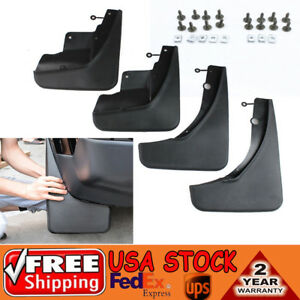 For 2011 2017 Jeep Grand Cherokee Mud Flaps Mud Guards Splash Front Molded 4pc
