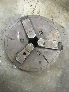 Union Dividing Head Chuck For Brown Sharpe Indexing 2 1 4 4 1 2 Tpi Mill Tool