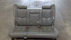 2000 2006 Suburban Yukon Xl 3rd Third Row Bench Seat Leather Trim Code 922