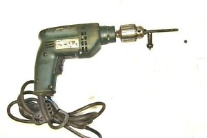 120v Metabo 3 8 Industrial Drill With 1 2 Chuck Key 0 2700 Rpm