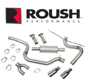 2012 2018 Ford Focus High Flow 3 Cat back Exhaust System Roush 421610