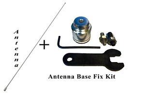 31 Stainless Antenna Mast Radio Antenna Base Repair Kit For Chevy Cadillac