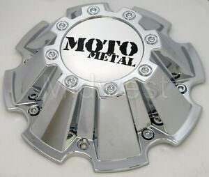 M793chrome Moto Metal Wheel Rim Chrome Center Cap For Mo200 Mo962 W Screws New