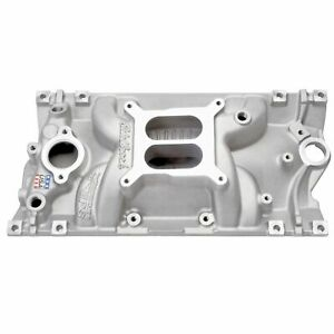 Edelbrock 2716 Performer Eps Vortec Intaker Sb Chevy W Free Intake Gaskets