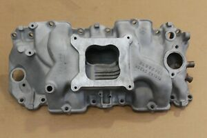 1966 Corvette Early 3885069 427 450hp L72 Intake Manifold Dated 8 24 65