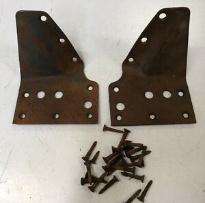 1928 1929 Ford Model A 4d Body To Sub Frame Brackets At Bottom Of Rear Doors