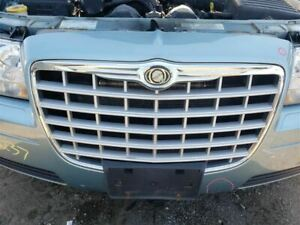 Grille Silver And Chrome Fits 05 10 300 376318