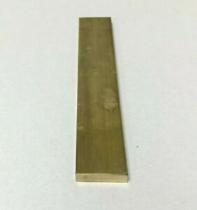 Brass Flat Bar Stock 1 4 x 1 X 6 Knife Making Handle Bolster C360 Extruded