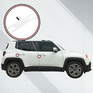 2015 18 Fits Jeep Renegade 4pc Invisible Door Edge Guards Pre Cut Custom Clear