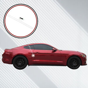 2015 18 Fits Ford Mustang 2dr Invisible Door Edge Guard Pre Cut Custom Fit Clear