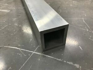 2 1 2 x 2 1 2 X 1 8 Wall 6063 T52 Aluminum Square Tube 12 Piece