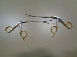 Left Right Angled Surgical Suture Scissors Rongeurs Instrumentation 1 93