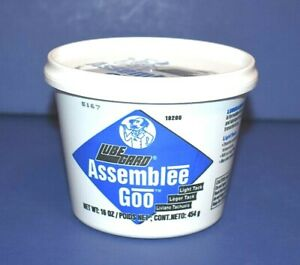 Lubegard Dr Tranny Blue Assemblee Goo Trans Gel Assembly Lube Lite Tack 16 Oz