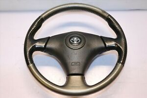 Jdm 00 05 Toyota Celica Gts Oem Srs Steering Wheel Zzt231 Mr2 Supra Black Grey