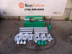 Greenlee 882 Flip Top Bender 1 1 4 1 1 2 2 Emt Imc Rigid Shoes With Pump 3