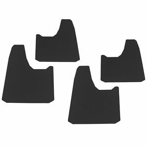 Universal Splash Guards Mud Flaps 4pc For Most Trucks And Suvs 13 X 19