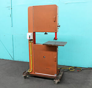 W Whitney Stueck Connecticut Vertical Band Saw 24 Non ferrous Metal wood Ve