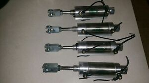 Lot 4x Numatics Pneumatic Actuator Cylinder M13478 Air Rc Scientific