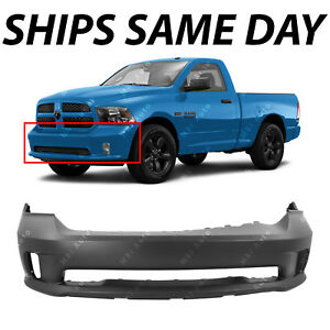 New Primered Front Bumper Cover For 2013 2018 Dodge Ram 1500 Sport Express