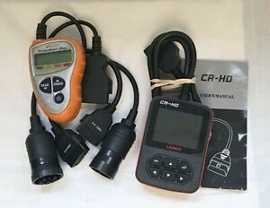 Actron Pocketscan Plus Cp9410 Launch Cr Hd Heavy Truck Code Reader Used Gc