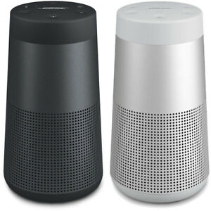 Bose Soundlink Revolve Portable Wireless Bluetooth Speaker - Black Silver