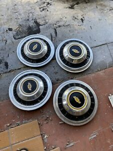Vintage Chevy Truck Hubcaps Wheel Covers