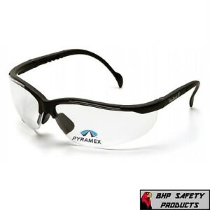 Pyramex V2 Venture Ii Reader Safety Glasses Clear Lens With Rx Bifocal