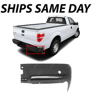 New Primered Steel Rear Right Rh Bumper End For 2009 2014 Ford F 150 W Park