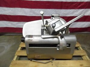 Hobart 1712e Automatic 12 Inch Meat Slicer Runs Well