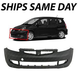 New Primered Front Bumper Cover Fascia For 2007 2008 Honda Fit Sport