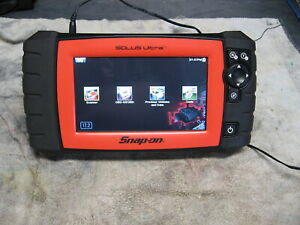 Snap On Solus Ultra Eesc318 Diagnostic Scanner Dom Asian 17 2 Orange Edition