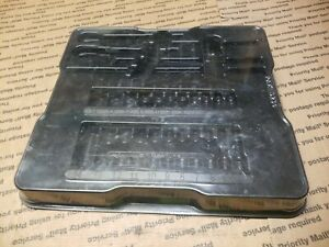 Snap On Tools 1 4 Metric 29pc General Service Socket Tray Only 129atmm