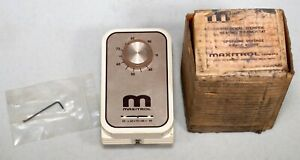 Maxitrol T115 Room Override Heating Thermostat Spst Line Voltage 40 90