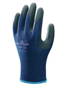 Showa Atlas 380 Ventulus Nitrile Foam Super Grip Work Gloves